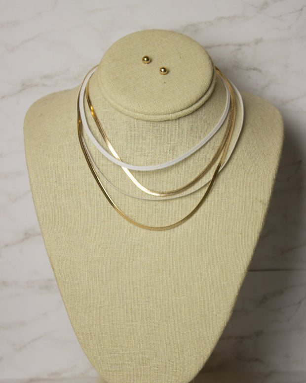 CORETTA MULTI-CHAIN NECKLACE