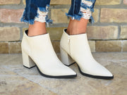 THE PLANNER STONE SNAKE BOOTIE