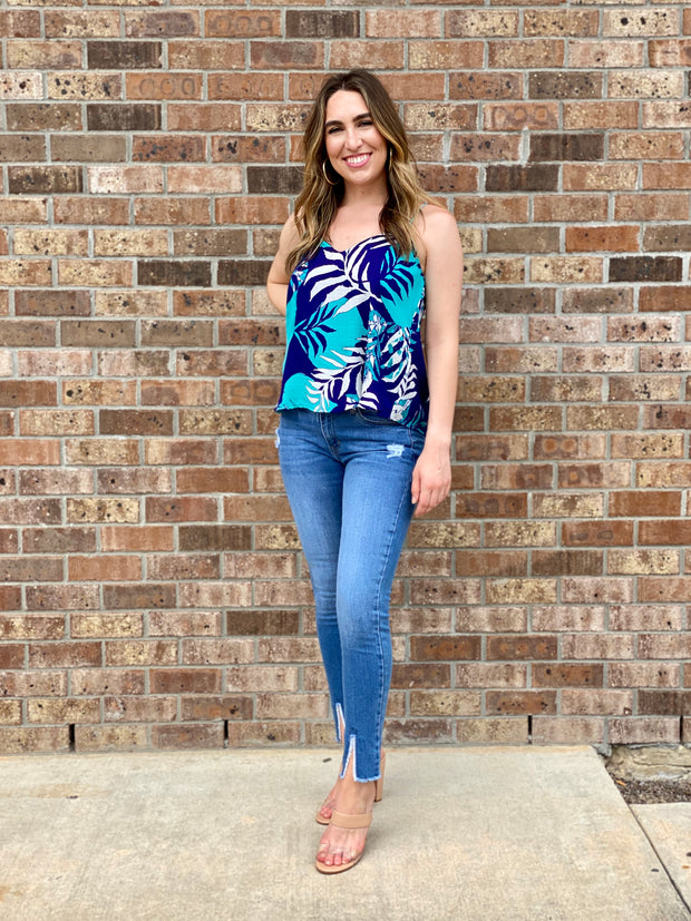 GOING COASTAL TANK BLOUSE