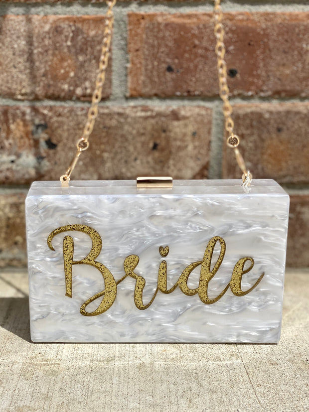 BRIDE CLUTCH WITH CHAIN