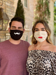 LIPS/MUSTACHE MASKS