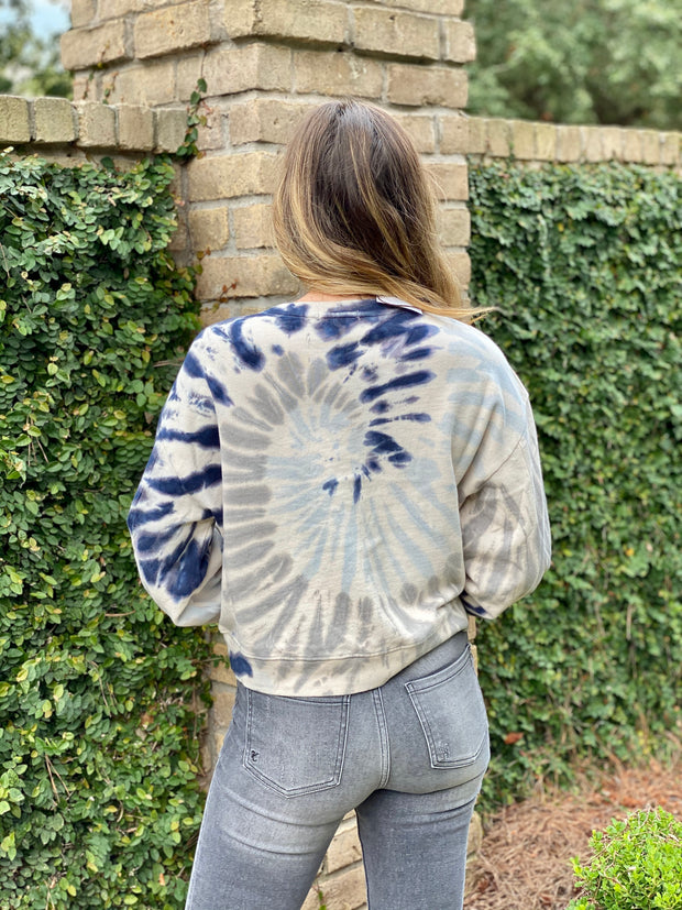 Z SUPPLY: TIE DYE PULLOVER