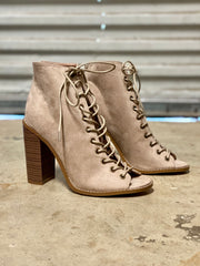 LILLY LACE UP BOOTIE