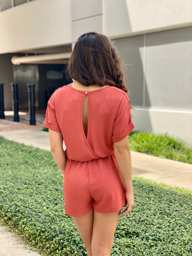 RIGHT ABOUT IT ROMPER