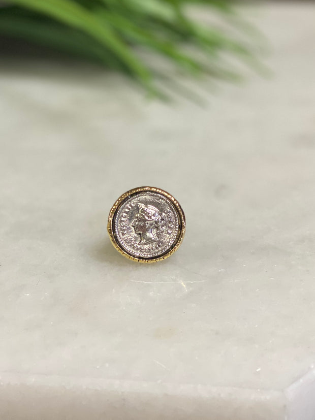 JULIO DESIGNS: VICTORIA COIN RING