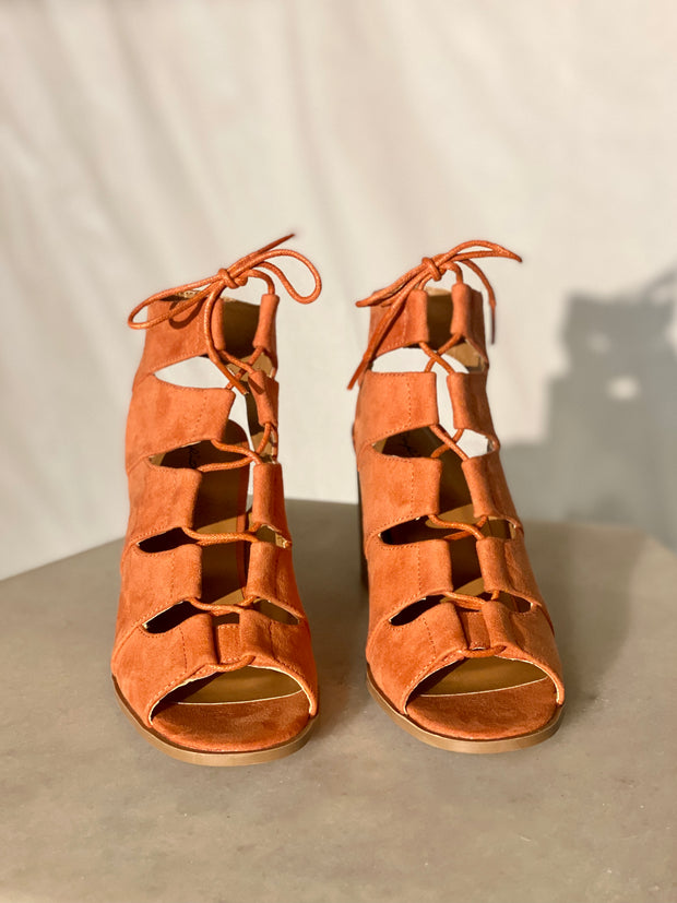 CARIS LACE UP HEEL