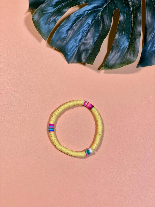 SUMMER FEELS STRETCHY STACKABLE BRACELET