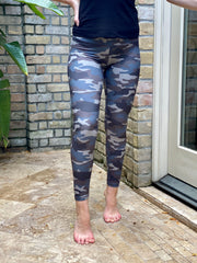 MEET A GOAL LEGGINGS - BLUE