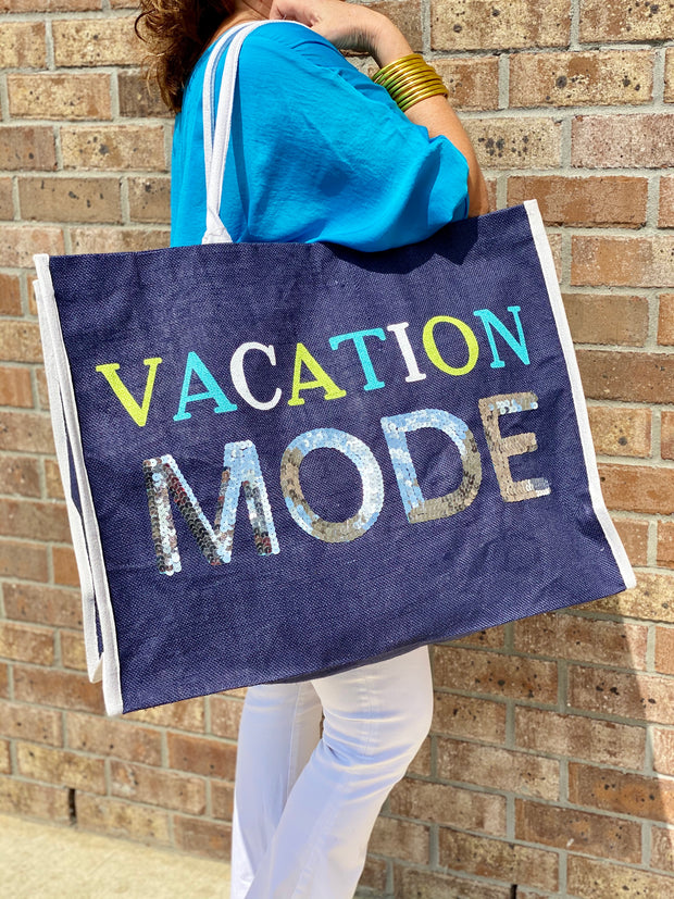 VACATION MODE TOTE