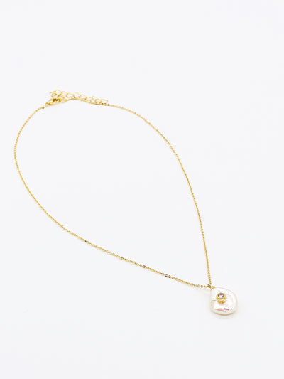 OH SO TRACIE:  VERA PEARL DROP NECKLACE