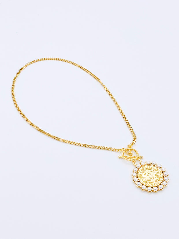 OH SO TRACIE:  ROME NECKLACE