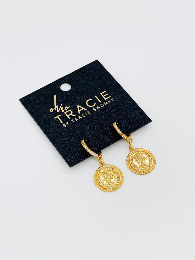 OH SO TRACIE:  FRANCINE EARRINGS