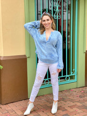 FREE PEOPLE: ANGUILLA PULLOVER