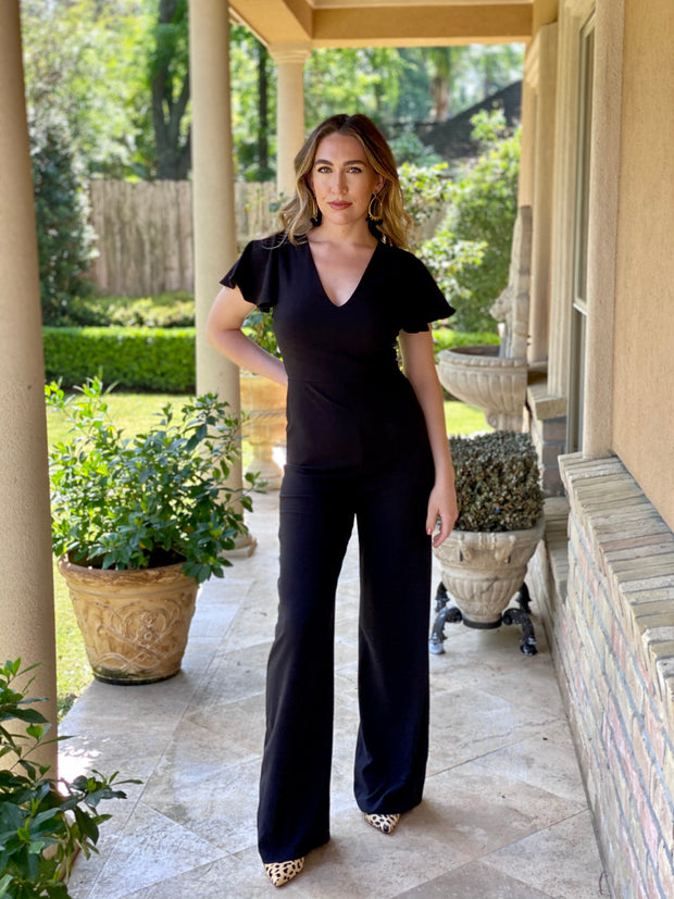 STAY IN TOUCH BLACK JUMPSUIT
