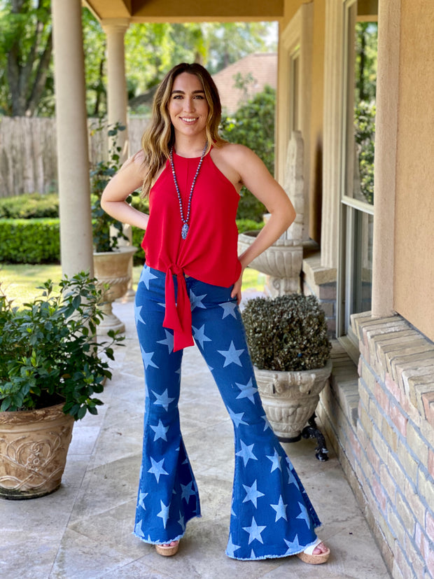 BE A STAR BELL BOTTOM JEANS
