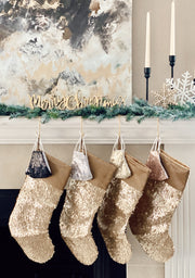 PRE ORDER: BLING BABE CHRISTMAS STOCKING - ONLINE EXCLUSIVE