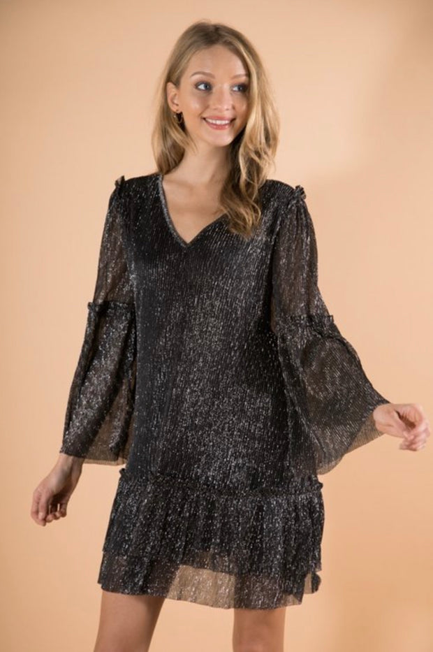 GLITTER SHIMMER SPARKLE SHINE DRESS
