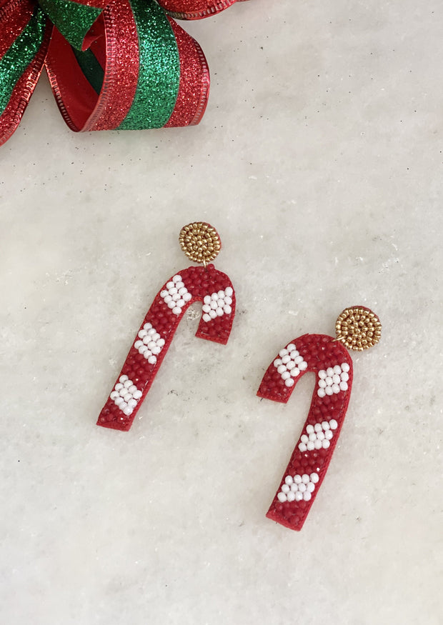 CANDY CANE LANE EARRINGS