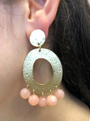 TURKS AND CAICOS STATEMENT EARRINGS