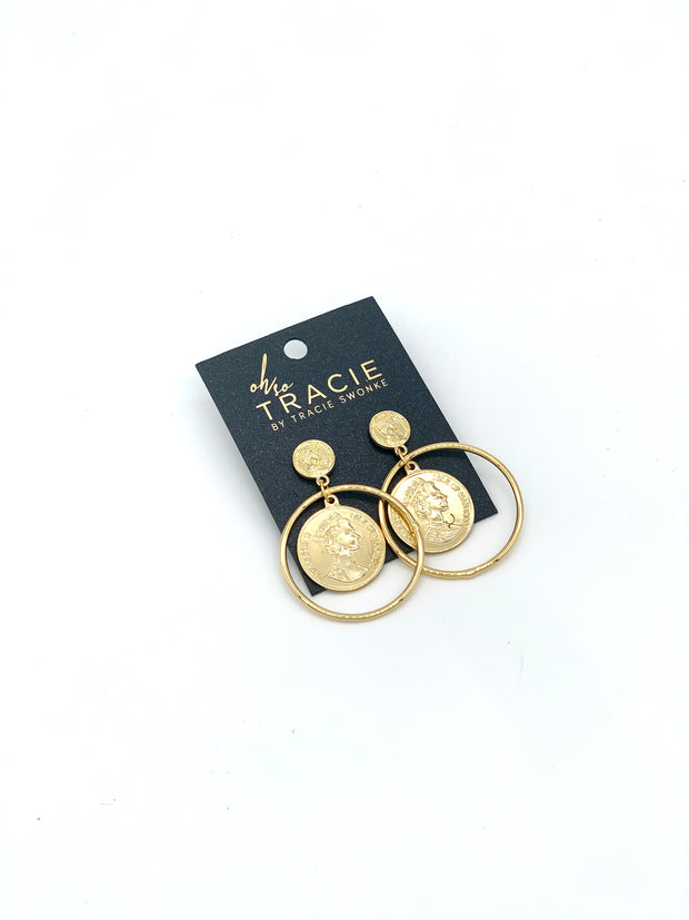 OH SO TRACIE: VENICE EARRINGS