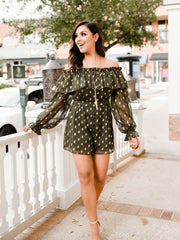 SPARKLE IN HER EYES ROMPER