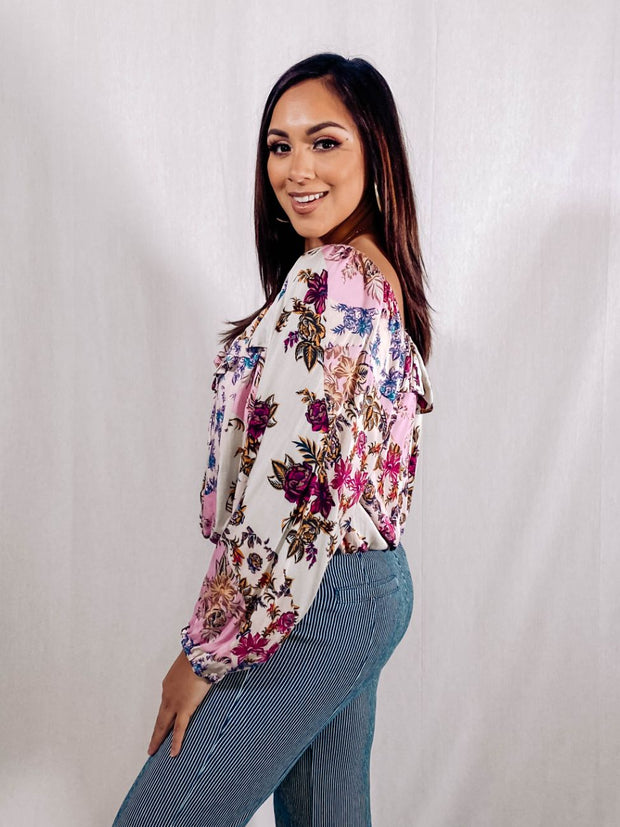 YOUNG, WILD, & FLORAL TOP