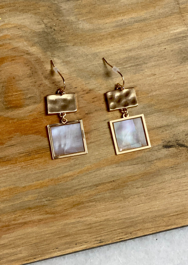 CLEARLY YOURS DANGLE EARRINGS