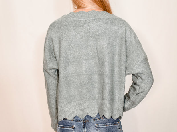 GOOD TIMES SWEATER - SLATE