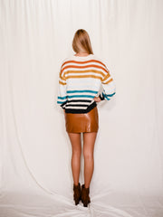 VALERIE STRIPE SWEATER