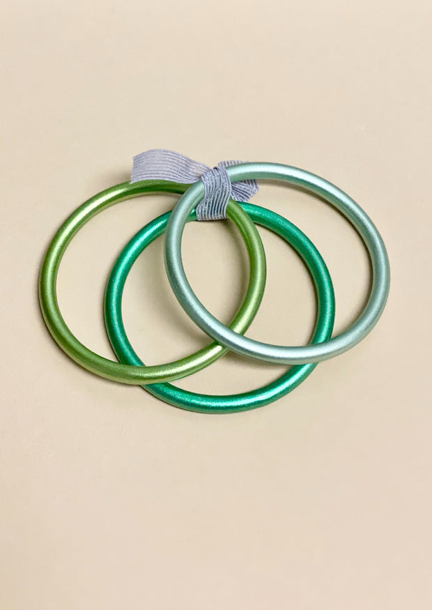 MELANIA CLARA: RAINBOW BANGLES - JUNGLE