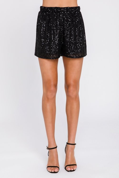 SPARKLE HOUR SEQUIN SHORT