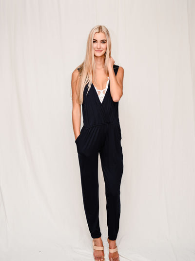 EASY PEASY JUMPSUIT - NAVY