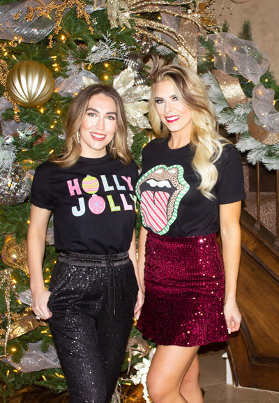 EXCLUSIVE: HOLIDAY COTTON TEES