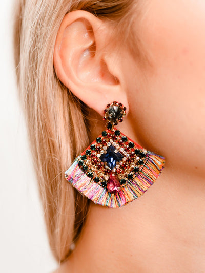 HIDDEN GEM EARRINGS - MULTI