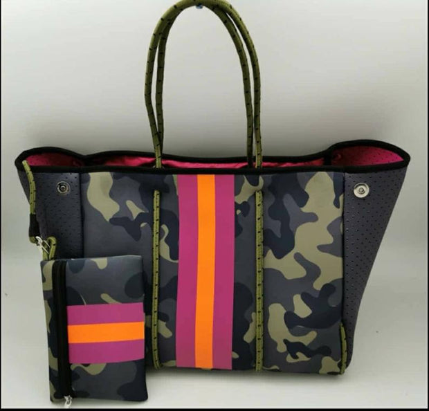 NEOPRENE CAMO BAG