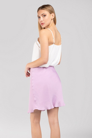 DELIGHTFULLY IN LILAC SKIRT