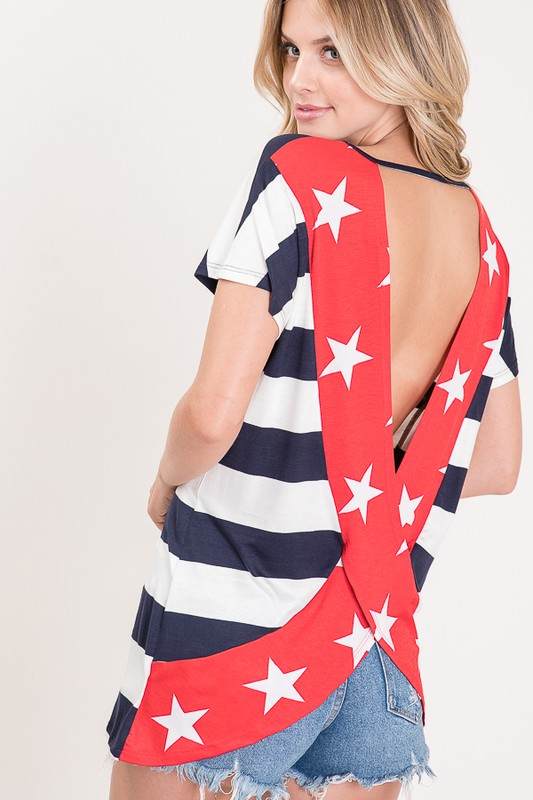 BACKLESS IN THE USA TOP