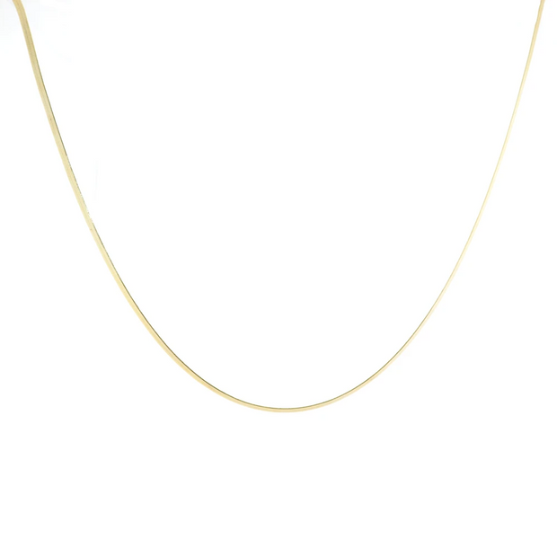 B.b. LILA:  OLD SCHOOL HERRINGBONE NECKLACE