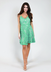 JUDITH MARCH PALM PARADISE DRESS