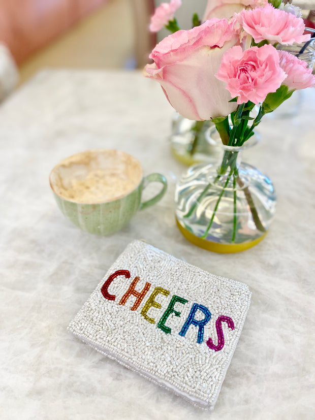 CHEERS ZIP UP POUCH