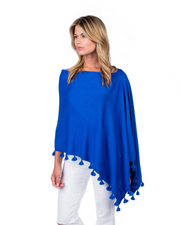 STRAIGHT FROM PARADISE CASHMERE PONCHO