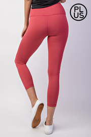 YOU GO GIRL CAPRI YOGA LEGGINGS