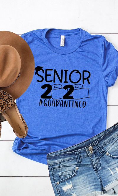 PRE-ORDER: SENIOR 2020 TEE - ROYAL BLUE