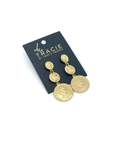 OH SO TRACIE: LEAH EARRINGS