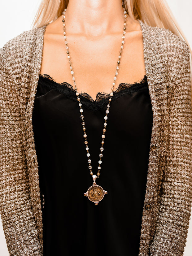 MC SOLEDAD LINEN NECKLACE