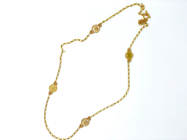 OH SO TRACIE: NINA NECKLACE