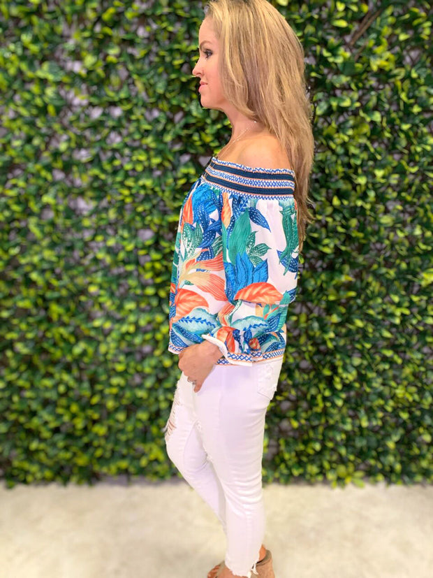 TROPICAL DREAMS TOP
