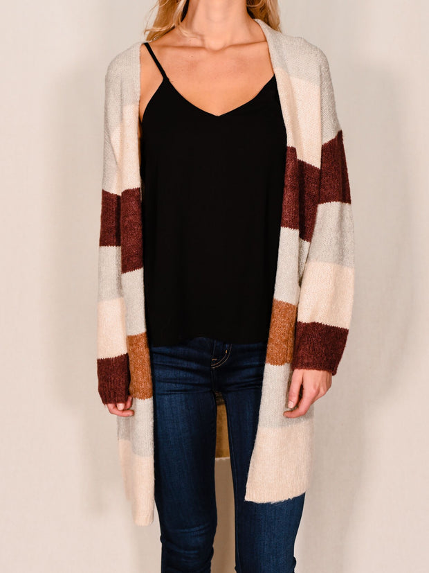 FALL POPSICLE CARDIGAN