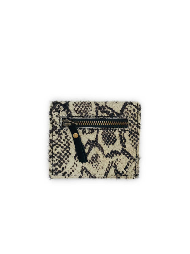 SNAKE/BLACK CARD HOLDER