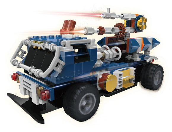 STEM GENIUS CONSTRUCTECHS - 3 - IN - 1 BATTLE TRUCK